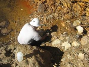 Water testing in San Martin