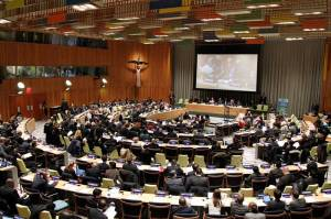 ... heard by decision-makers and politicians here in the UN?