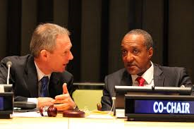 Amb. Korosi and Amb. Kamau refereed the OWG process