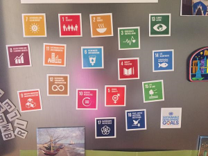The SDG fridge magnet - and they said it couldn't be done.