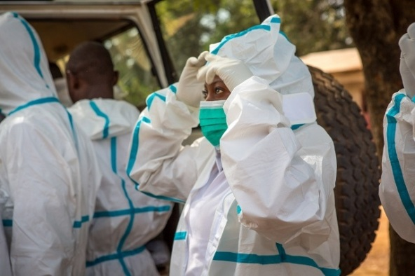CAFOD supported safe and dignified burial teams in Sierra Leone during the Ebola crisis